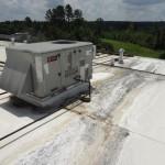 Leaking condensation line