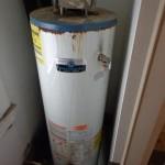 Failing/Improper installed water heater.