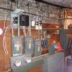 Improper installed main/sub electrical panels